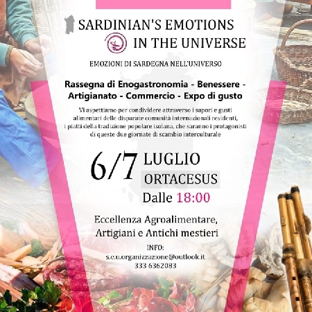 Sardinian's Emotions in The Universe