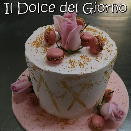 Torta Florida preparata dal Pastry Chef palermitano Giuseppe Deiana