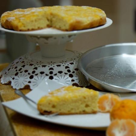 Torta rovesciata alle clementine