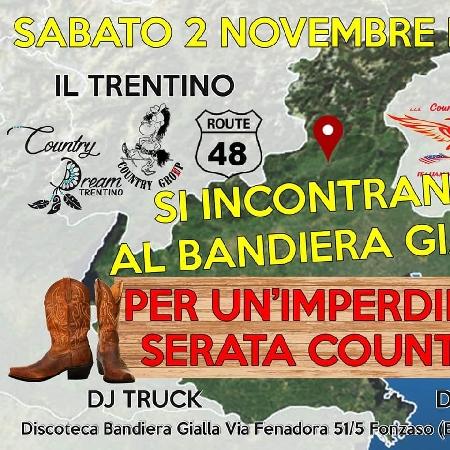 Trentino e Friuli si incontrano al Bandiera Gialla - Musica Country