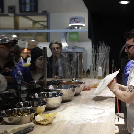 Un momento della Masterclass di Giacomo Garau al Sigep di Rimini