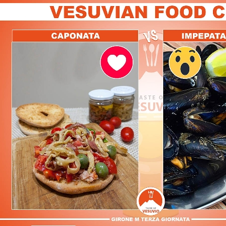 Vesuvian Food Cup - gara tipo