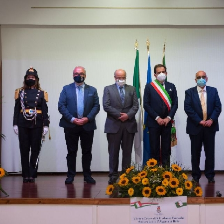 Visita a Cetara dell'Ambasciatore dell'Algeria