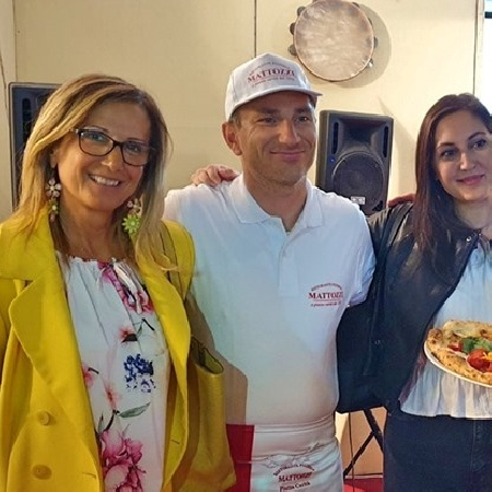 lopa surace sorrentino - presentazione pizza al peperoncino ottobre 2019
